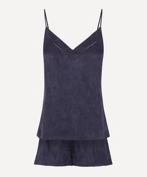 Hera Silk Jacquard Cami and Short Set