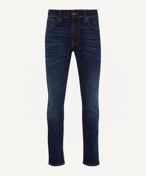 Lean Dean Dark Deep Worn Jeans