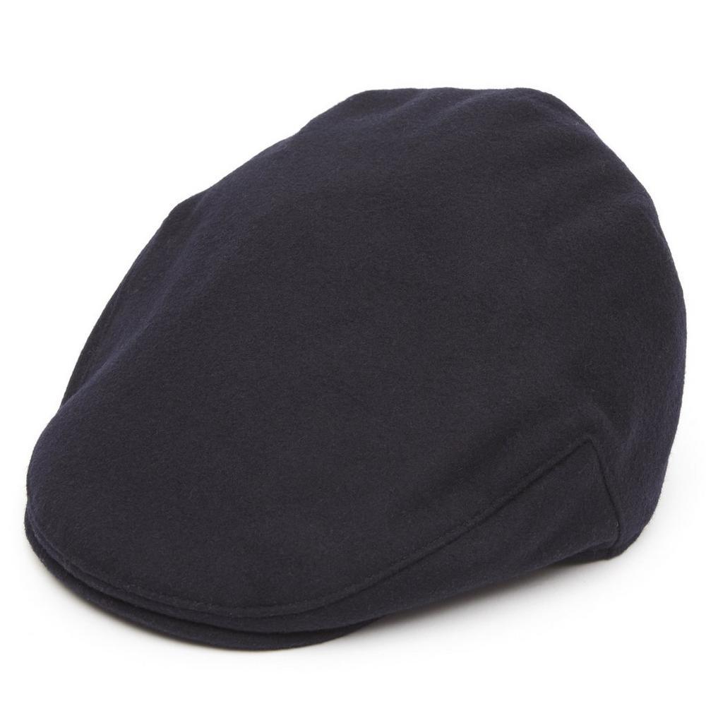 Christys' - Balmoral Melton Flat Cap