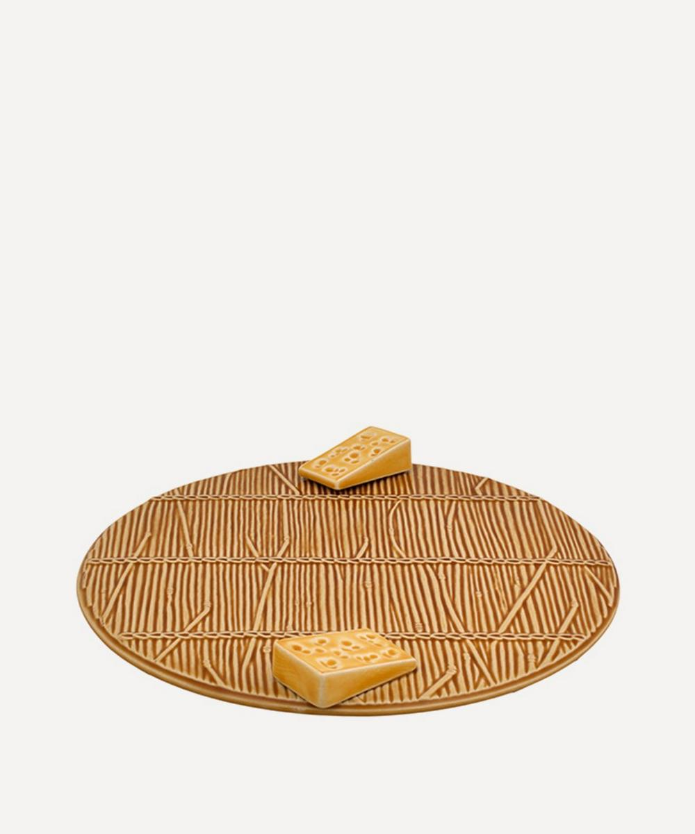Bordallo Pinheiro - Ceramic Cheese Tray