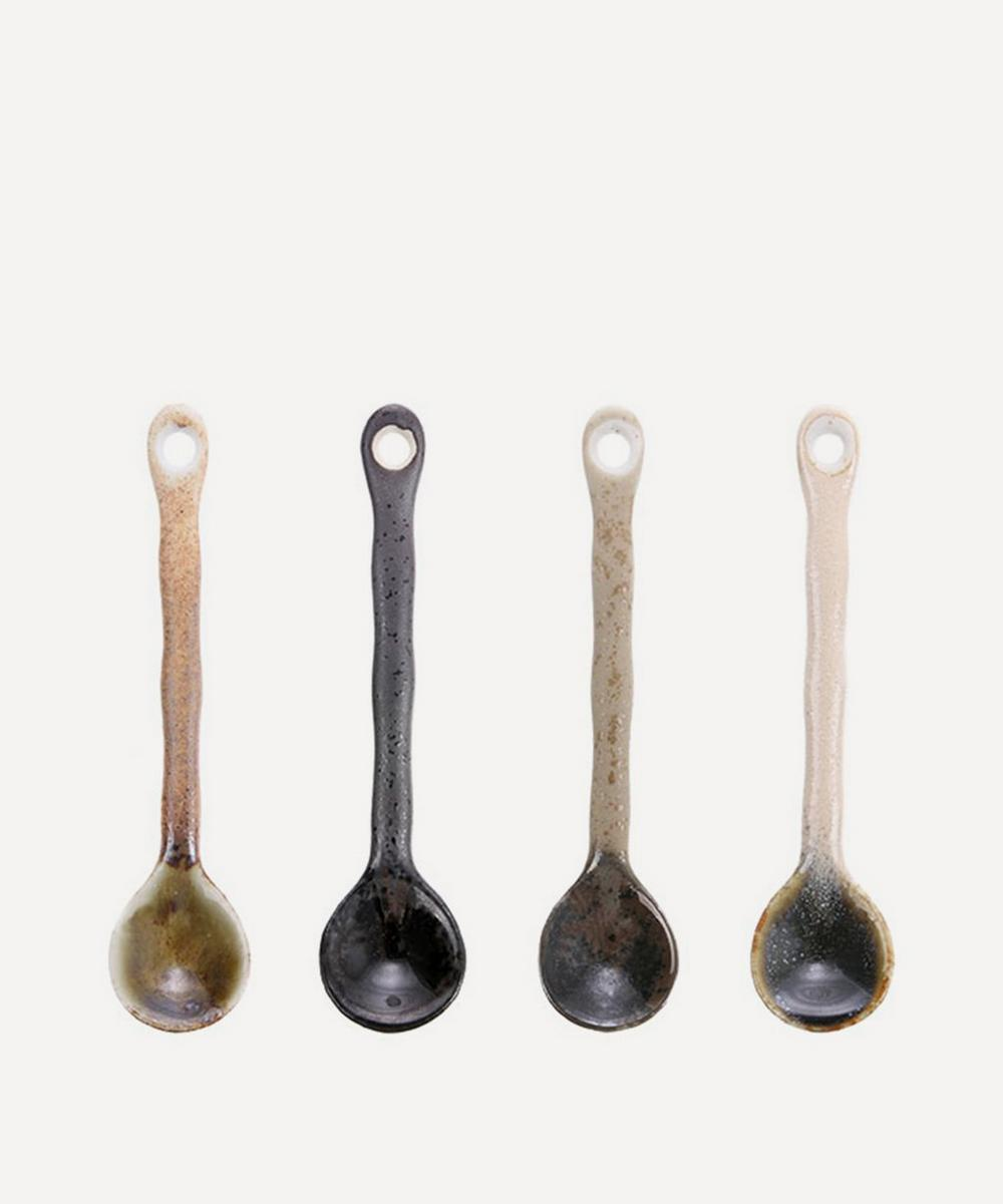 HK Living - Japanese Ceramic Teaspoons Set of 4