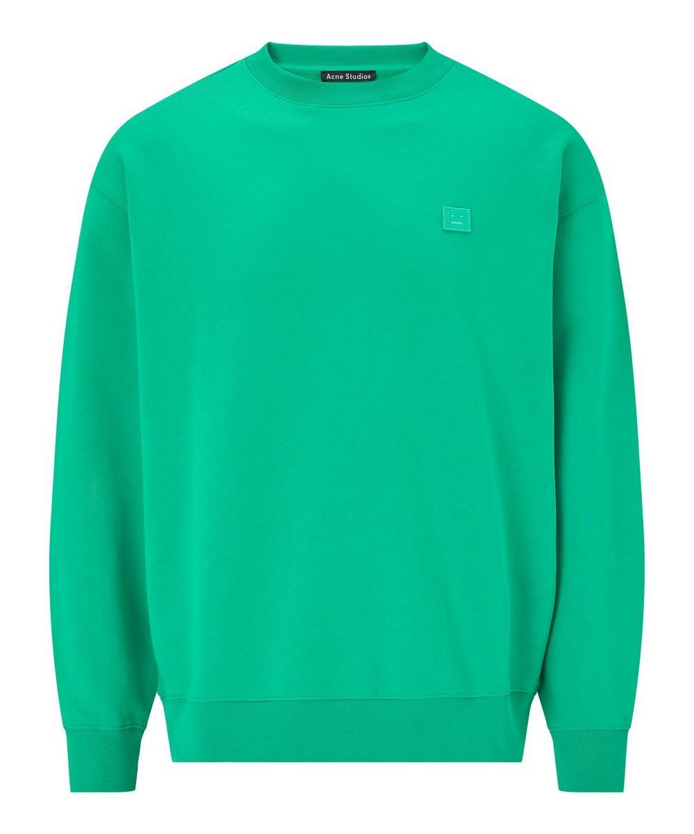 Acne Studios - Face Oversized Cotton Sweater