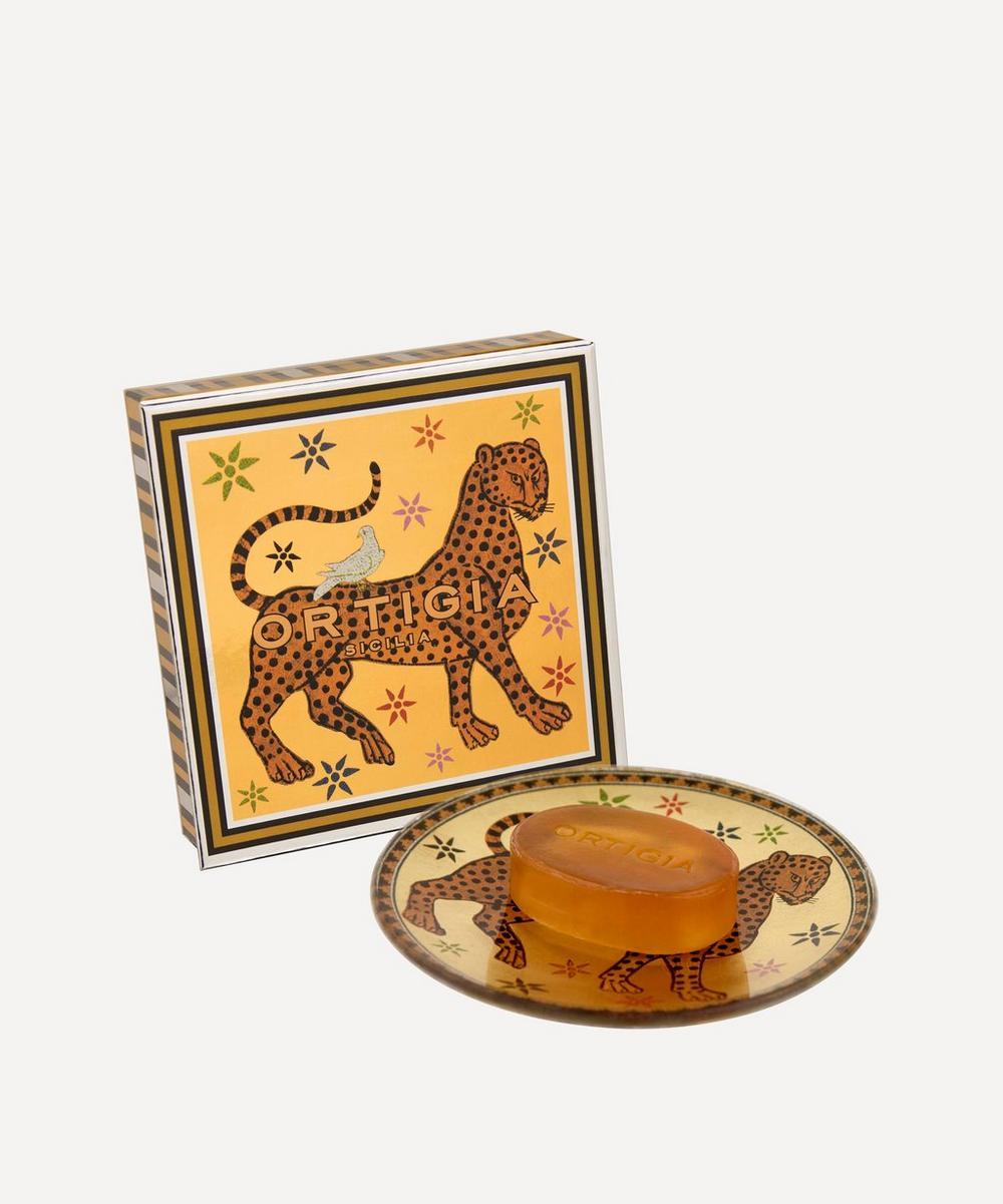 Ortigia - Ambra Nera Glass Dish and Soap