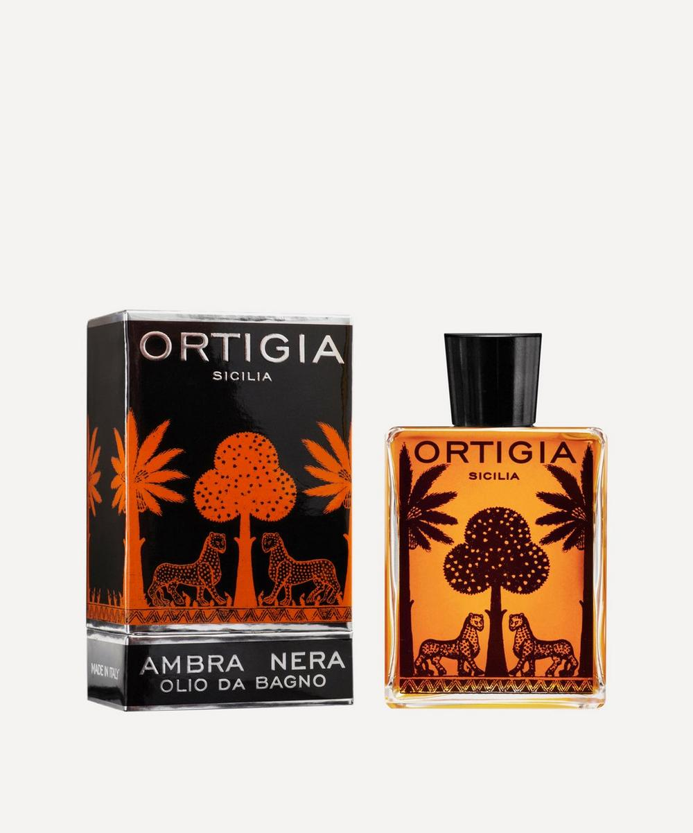 Ortigia - Ambra Nera Bath Oil 200ml