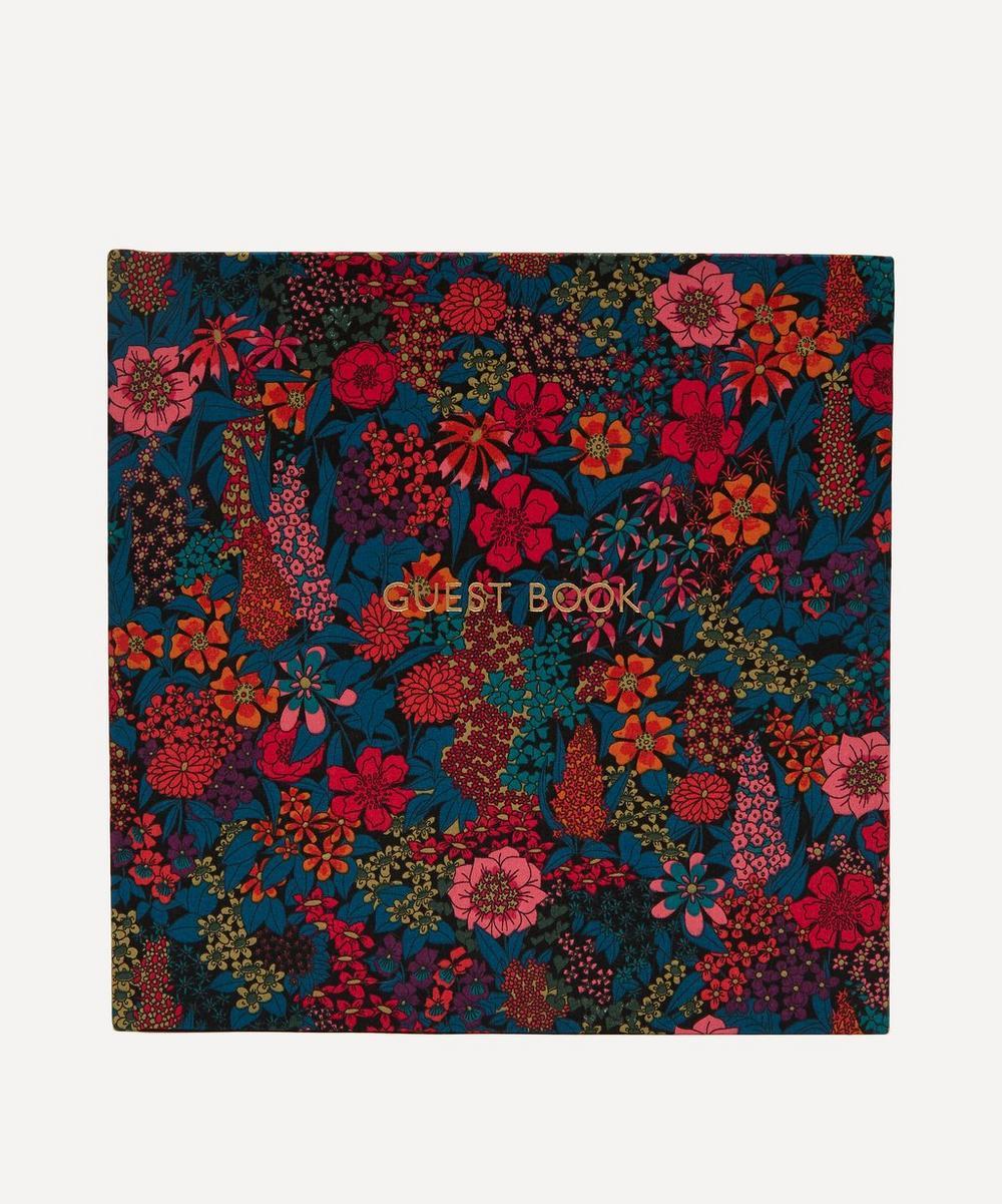 Liberty - Ciara Print Cotton Square Guest Book