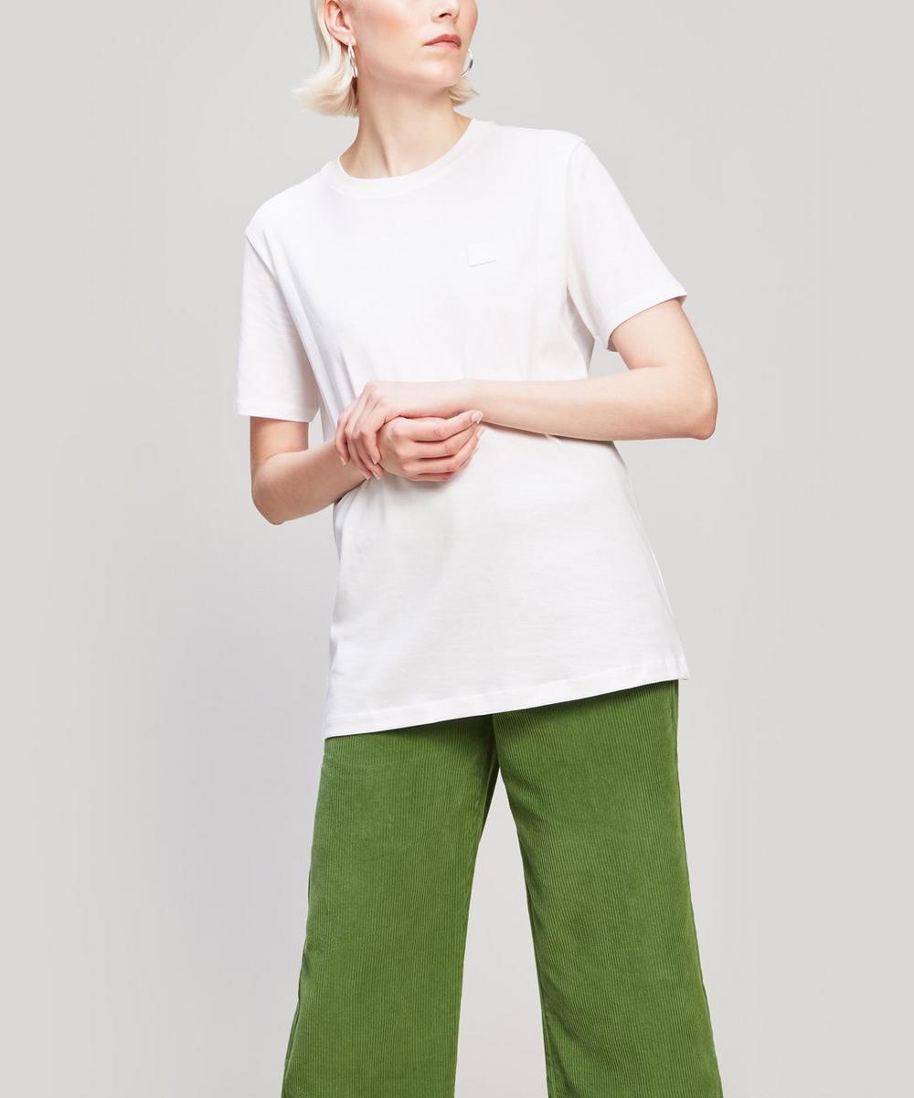 Acne Studios - Face Patch Long Cotton T-Shirt
