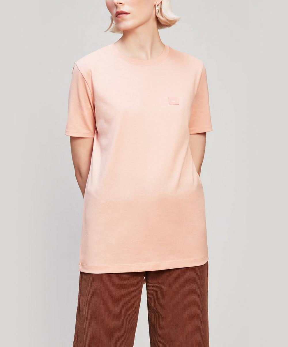 Acne Studios - Face Patch Long Cotton T-Shirt