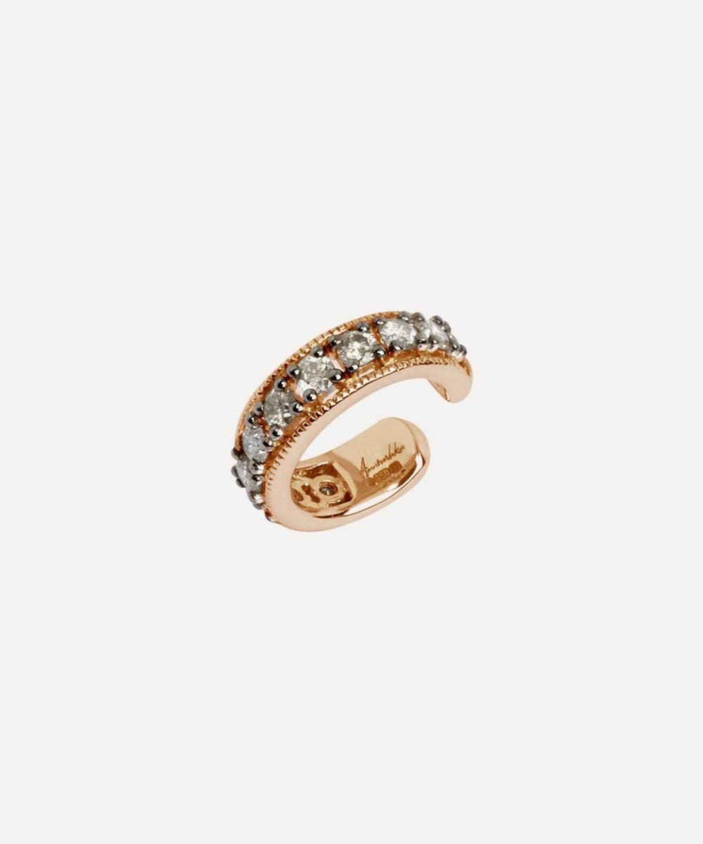 Annoushka - 18ct Rose Gold Dusty Diamonds Hinged Ear Cuff