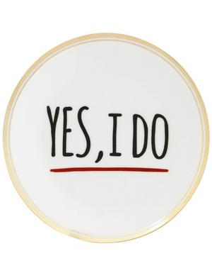 Yes I Do Decal Plate