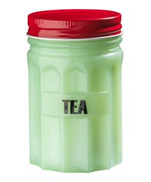 Small Tea Glass Jar