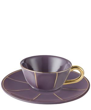 Vintage Tea Cup With Saucer