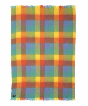 Sunshine Mohair-Blend Blanket