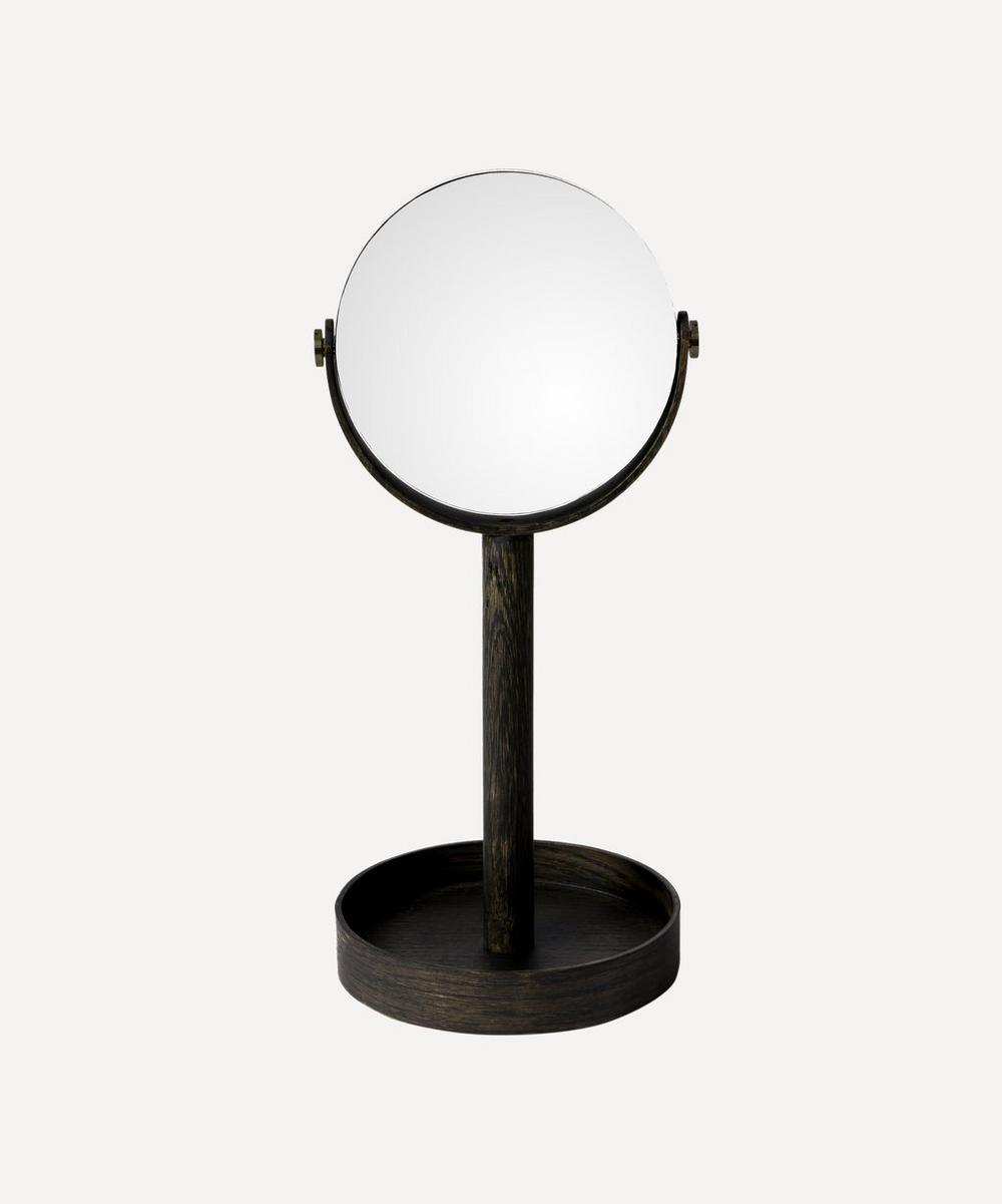 Wireworks - Dark Oak Magnify Mirror