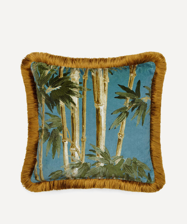 Silk cushion Hackney Marshes