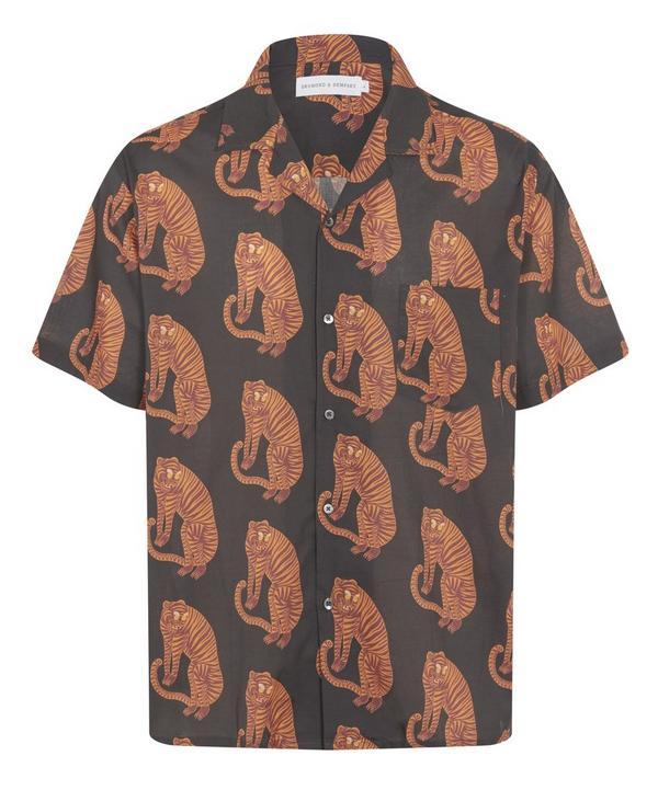 Desmond & Dempsey - Sansindo Tiger Cuban Shirt