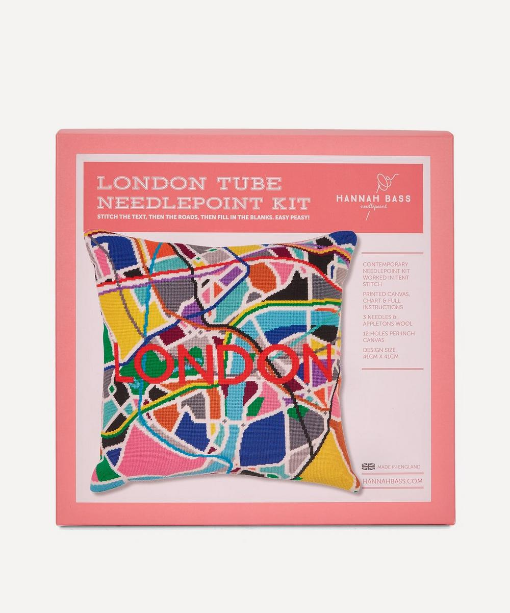 Hannah Bass - London Tube Needlepoint Kit