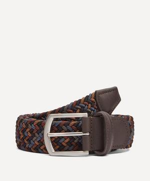 Multi Colour Woven Elastic Belt
