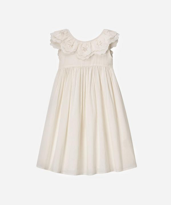 Faune - The Vintage White Wren Embroidered Cotton Nightdress 2-8 Years