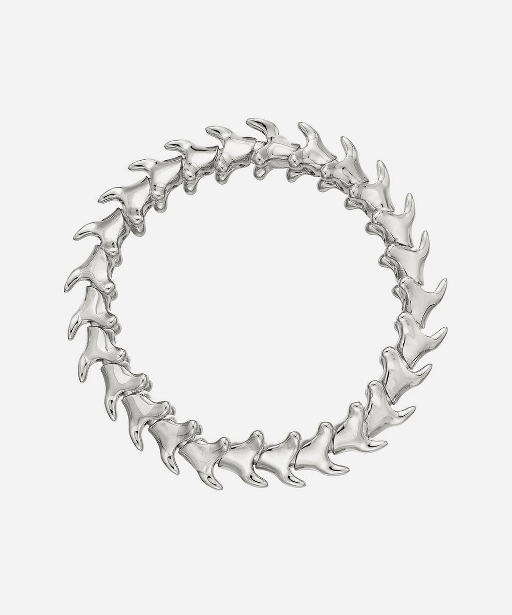 Shaun Leane - Silver Serpents Trace Wide Bracelet