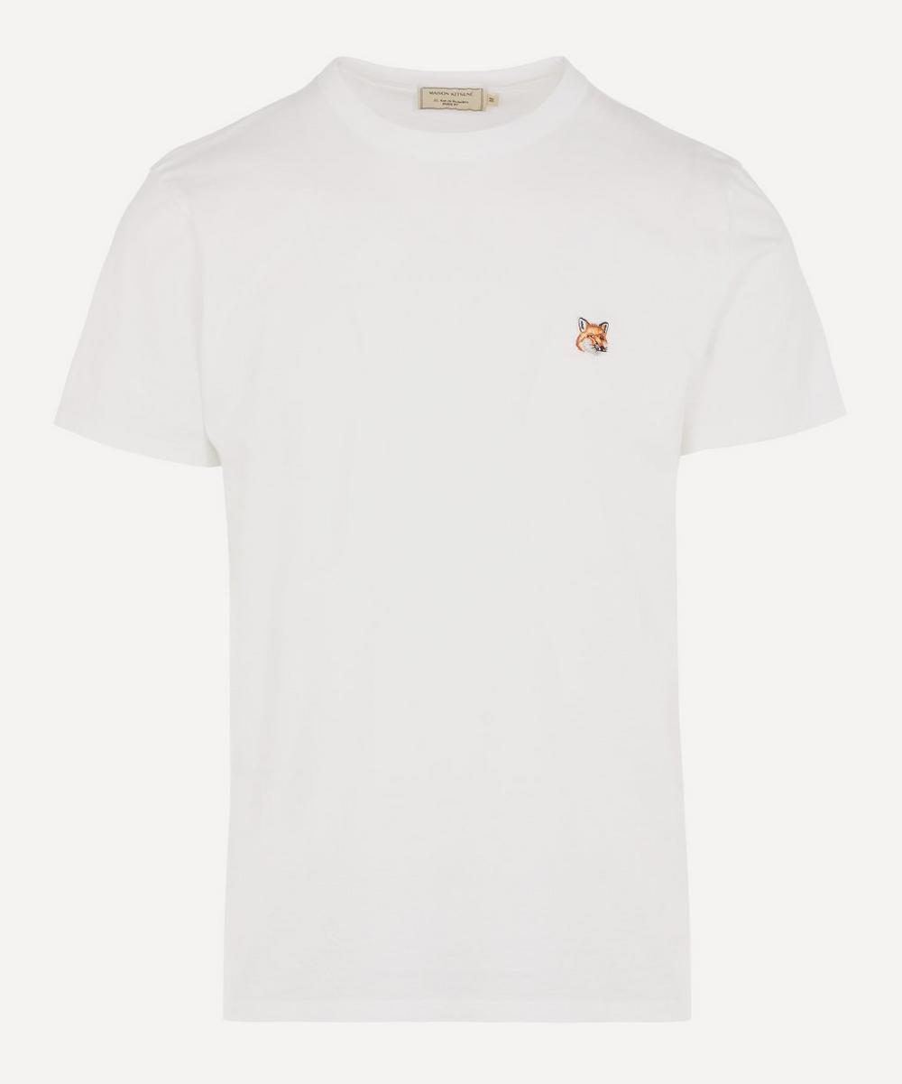 Maison Kitsuné - Small Fox Logo Cotton T-Shirt