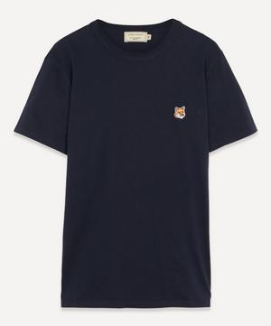 Small Fox Logo Cotton T-Shirt