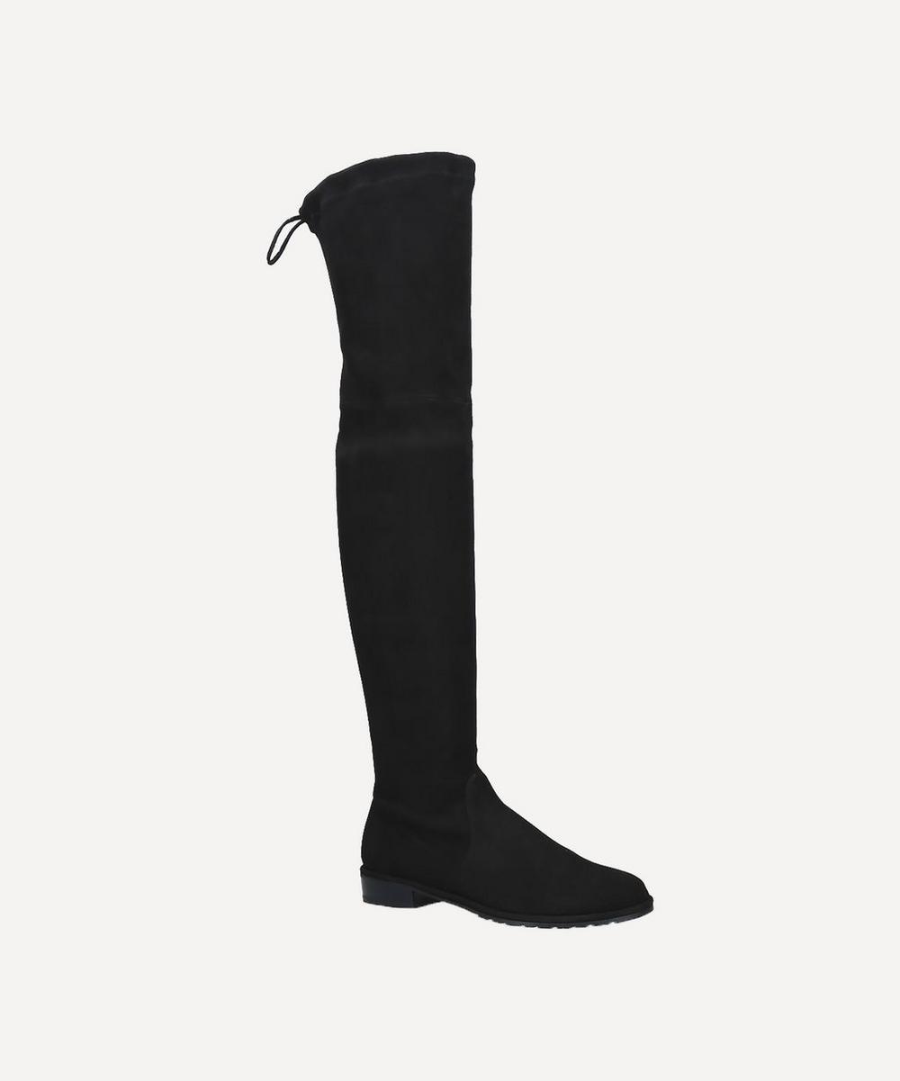 Stuart Weitzman - Lowland Over-Knee Suede Boots