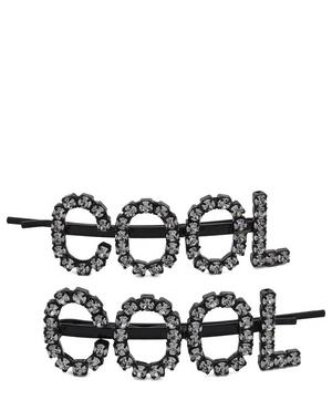 Cool Crystal Hair Pins