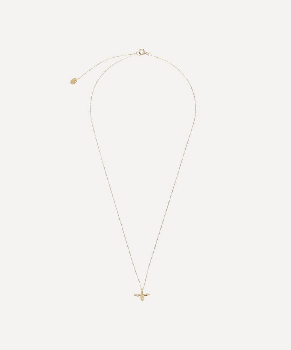 Alex Monroe - Gold Teeny Tiny Bumblebee Necklace