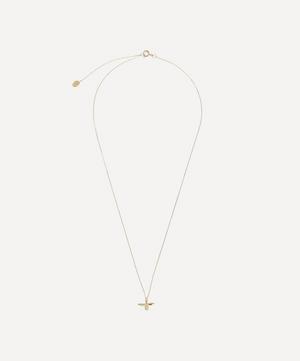 Gold Teeny Tiny Bumblebee Necklace
