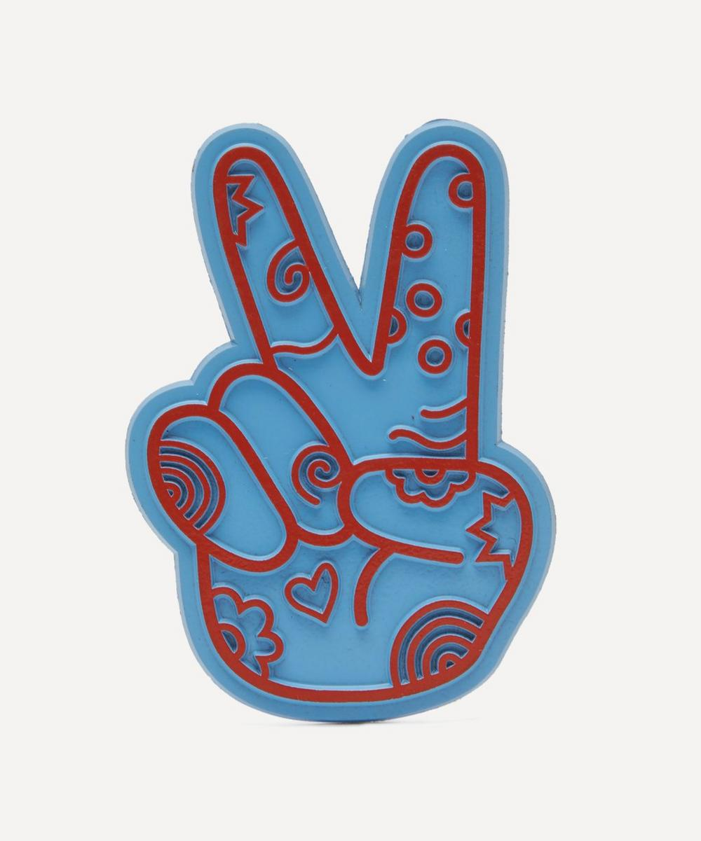 Seltzer - Peace Hand Magnet