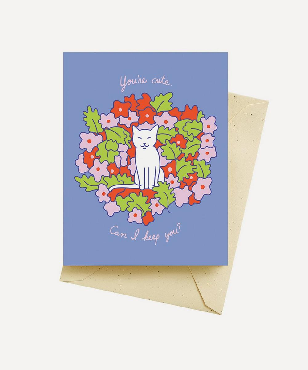 Seltzer - Cute Kitty Valentine's Card