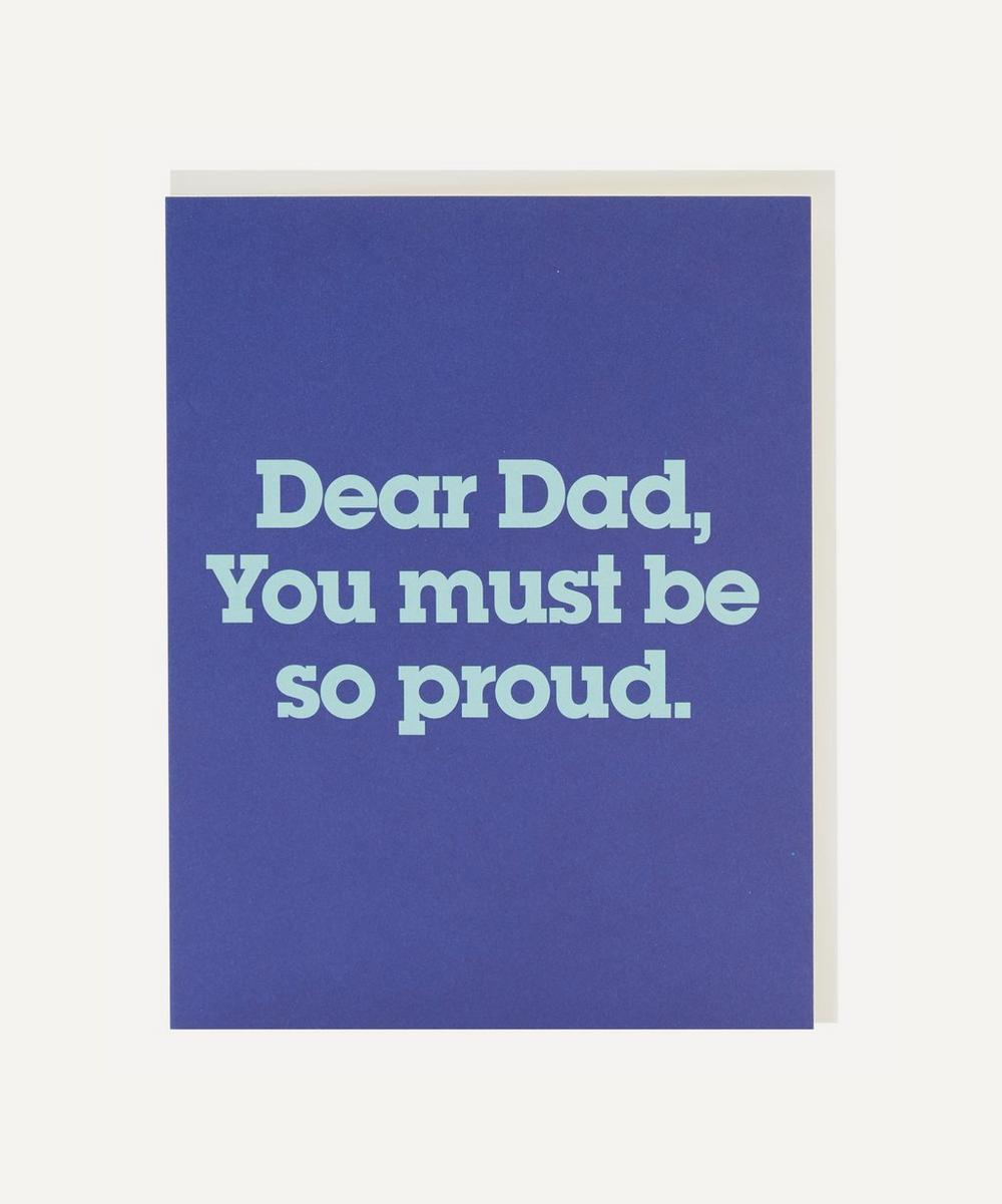 Unspecified - Proud Father's Day Card