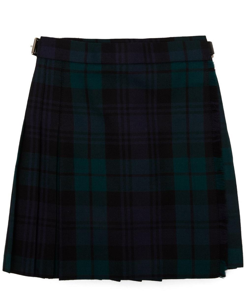 Le Kilt - Black Watch Tartan Pleated A-Line Skirt 2-8 Years