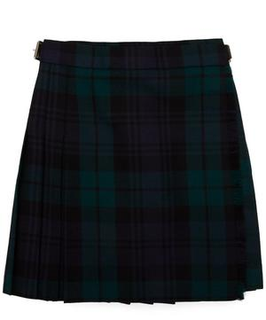 Black Watch Tartan Pleated A-Line Skirt 2-8 Years