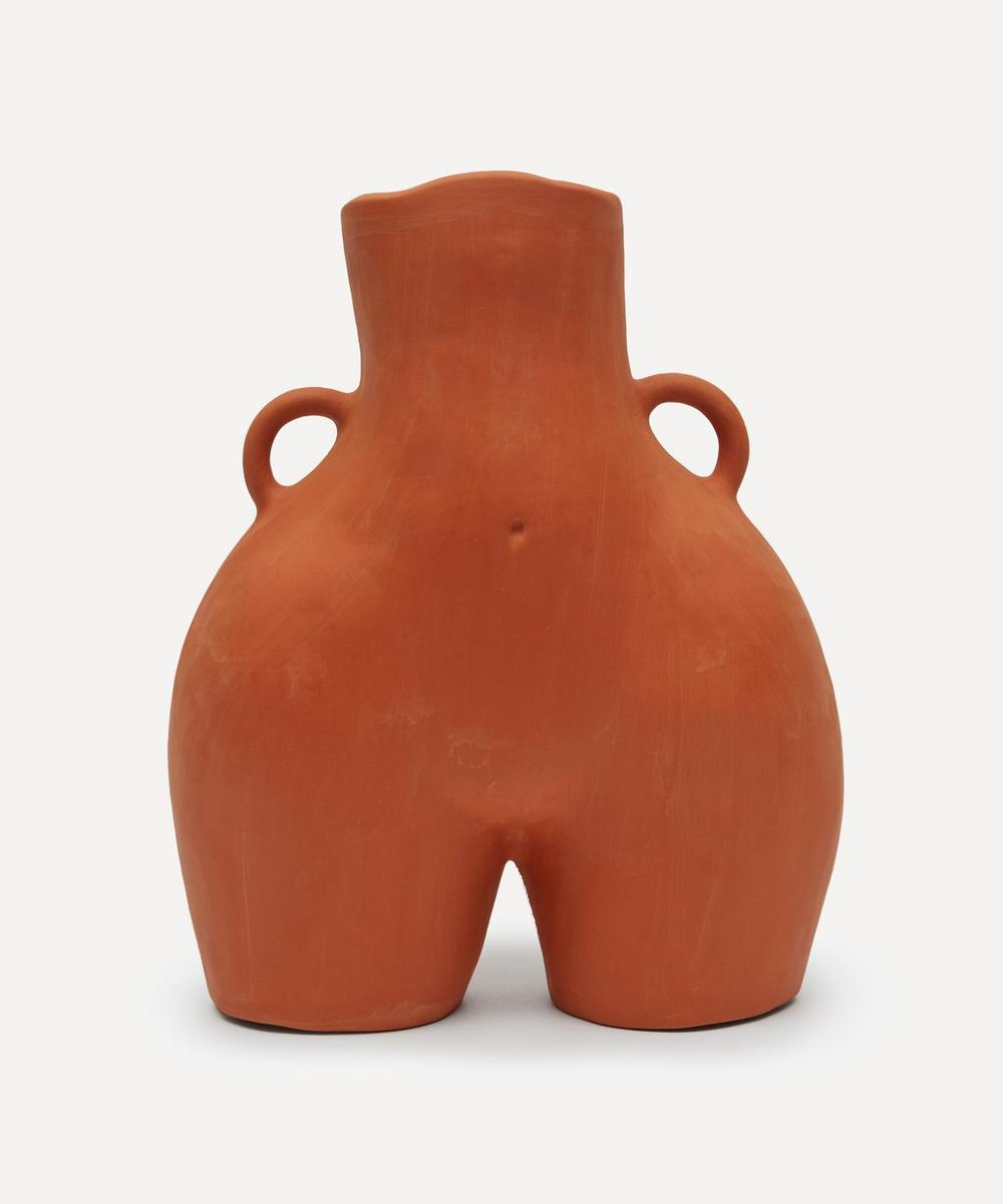 Anissa Kermiche - Love Handles Terracotta Vase
