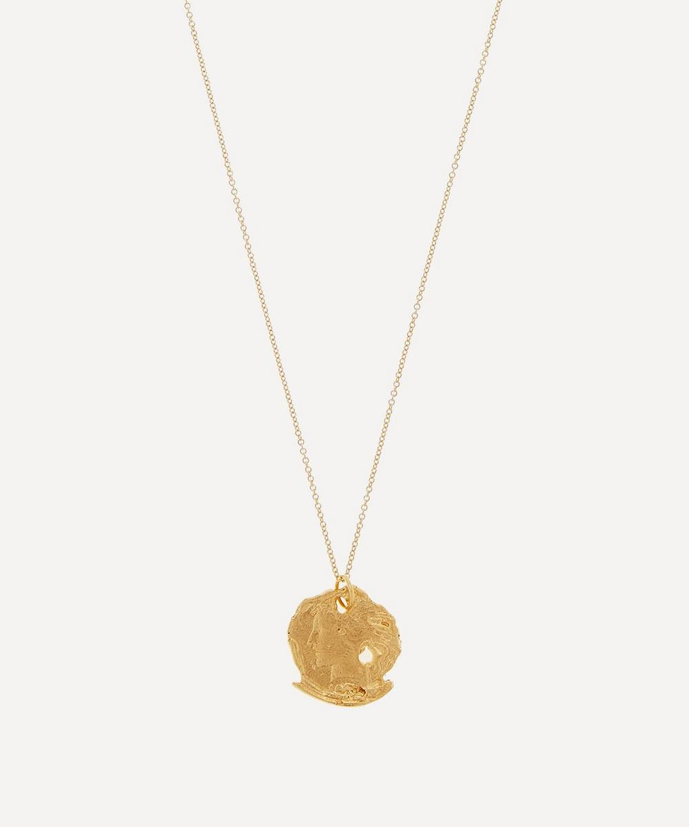 Alighieri - Gold-Plated Forgotton Memory Necklace