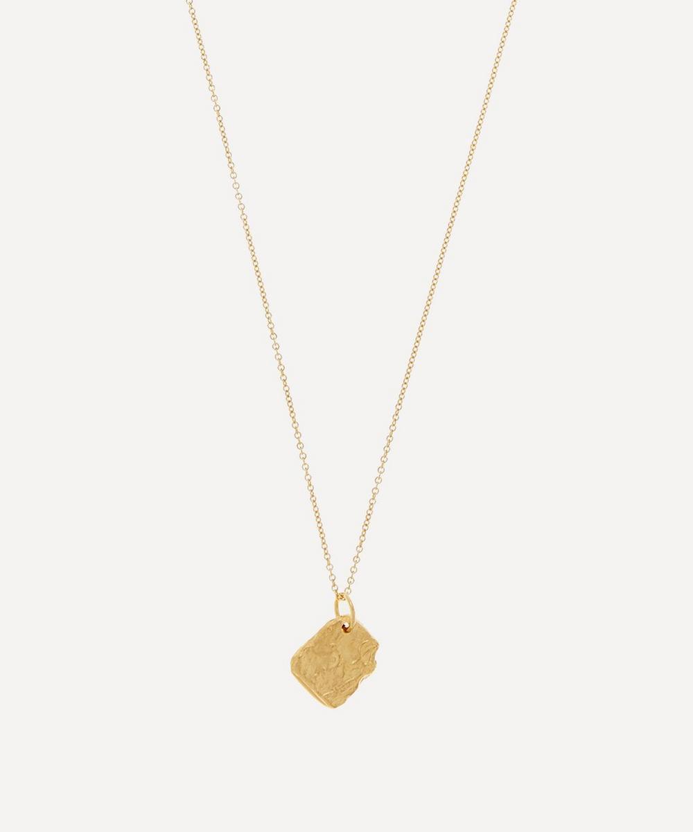 Alighieri - Gold-Plated Alchemist Necklace