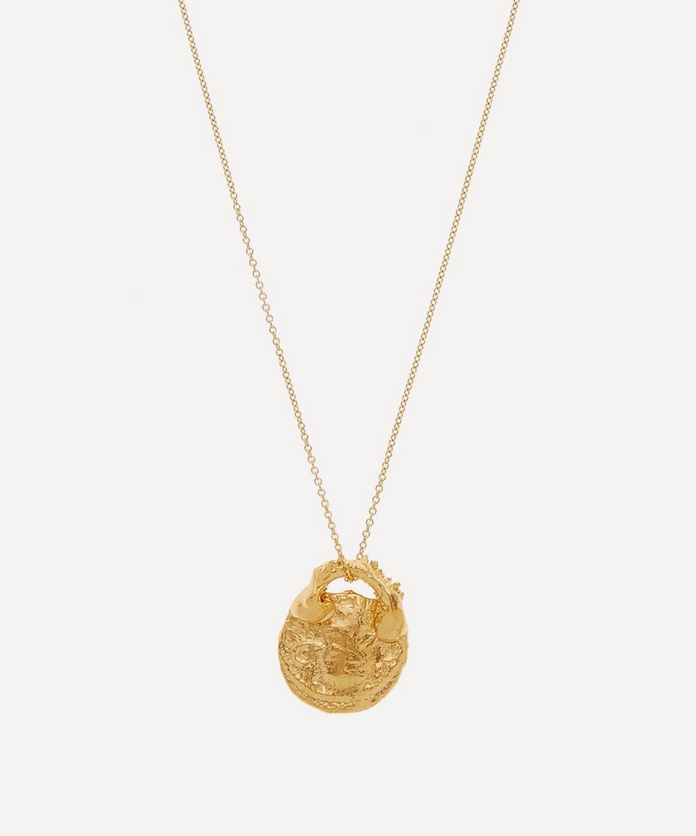 Alighieri - Gold-Plated Silencio Necklace