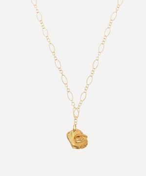 Gold-Plated The Stranger and The Sleepwalker Pearl Necklace