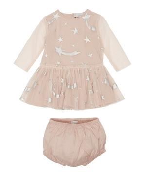 Stars Tulle Dress with Bloomers 3 Months-3 Years