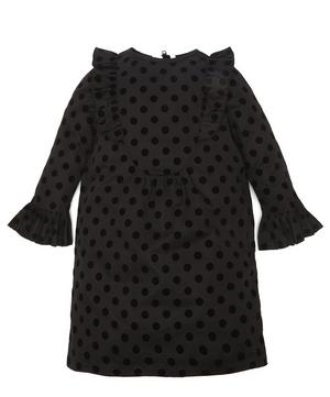Flock Dots Long Sleeve Dress 2-8 Years