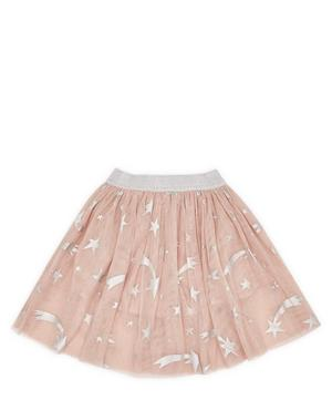 Foil Stars Tulle Skirt 2-8 Years