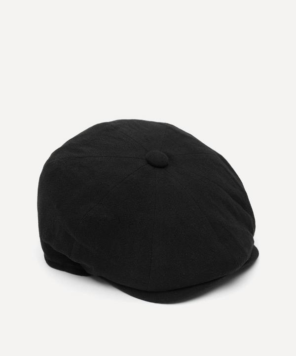 Christys' - Alfie 8 Piece Heavy Linen Baker Boy Flat Cap