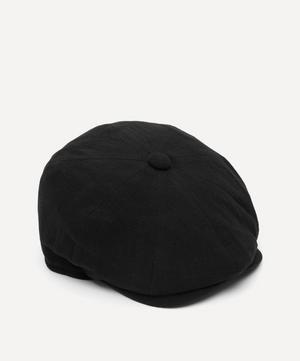 Alfie 8 Piece Heavy Linen Baker Boy Flat Cap