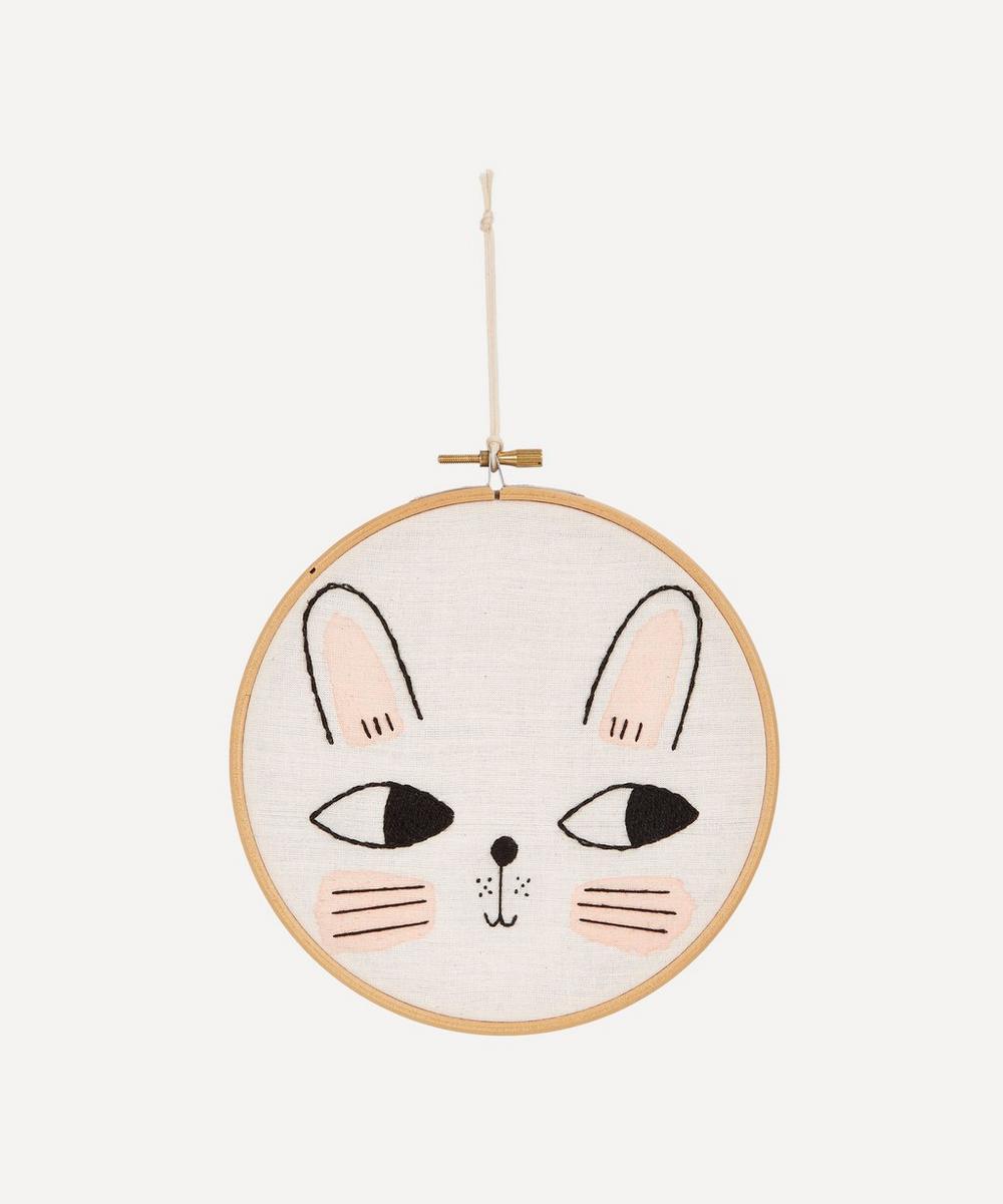 aro for kids - Bunny Embroidered Wall Art