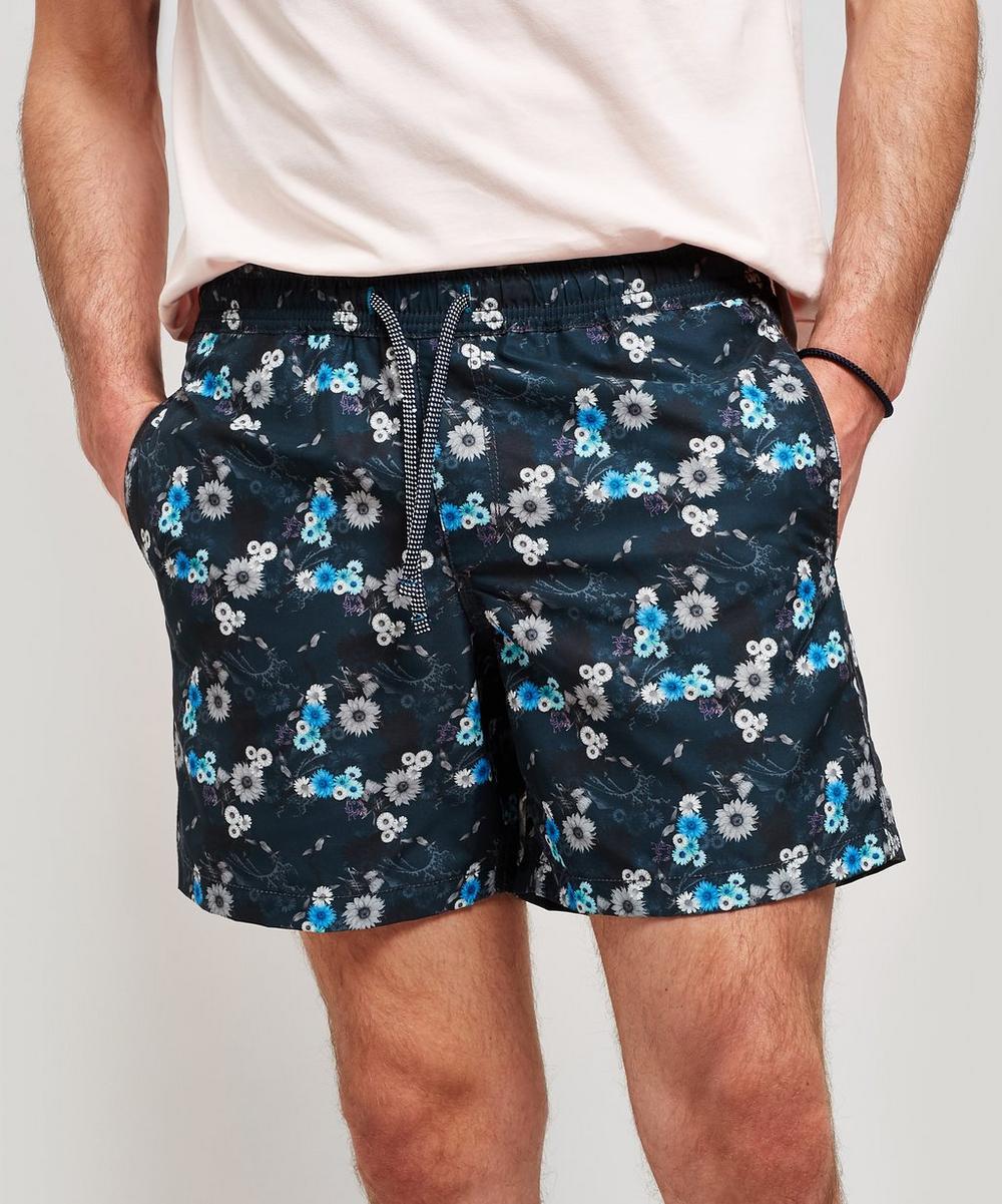 Riz - Blythe Mini Night Flower Swim Shorts