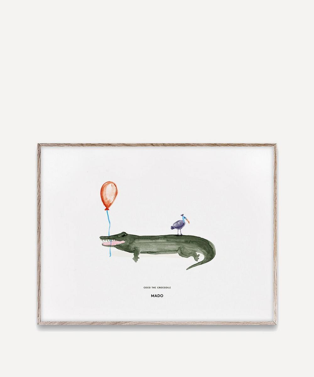 MADO - Coco the Crocodile A3 Print