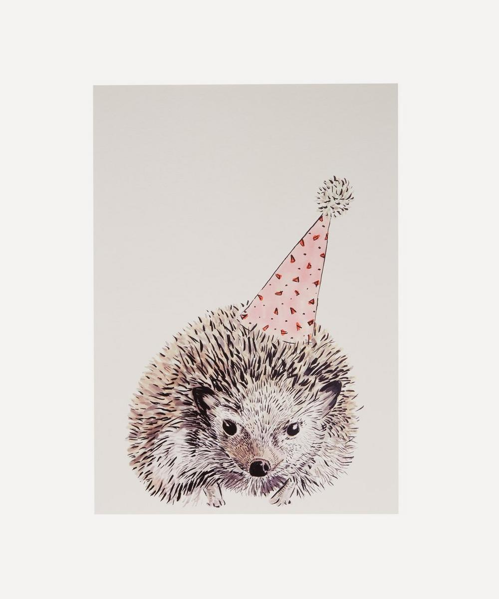 Max Made Me Do It - Party Hedgehog A3 Print