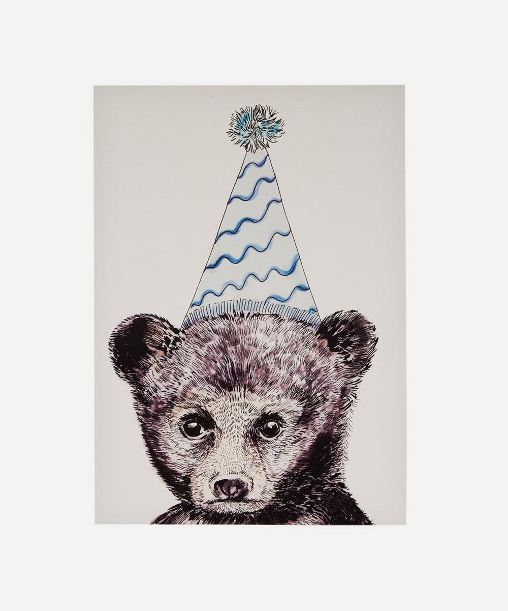 Max Made Me Do It - Party Bear A3 Print