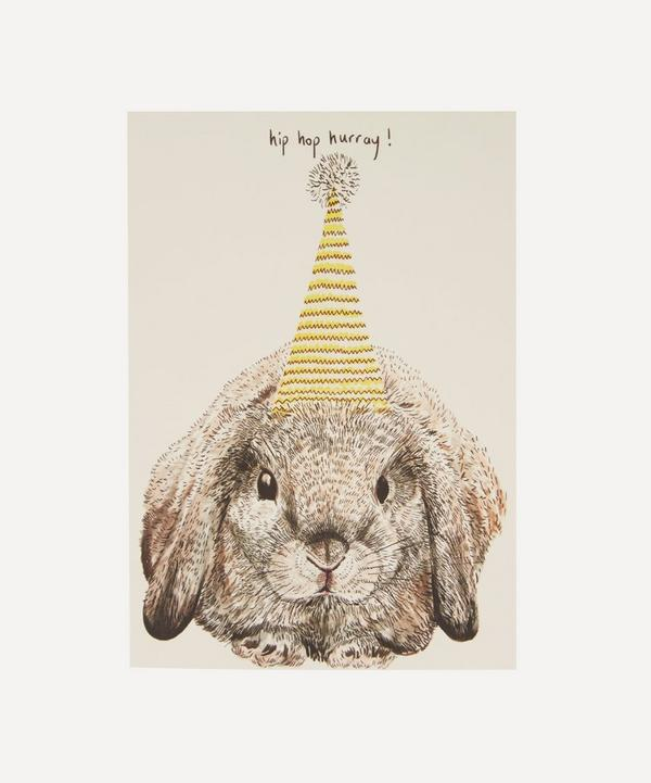 Max Made Me Do It - Party Bunny Birthday Card